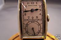 Hamilton Seckron Duo-Dial Doctor's Wrist Watch